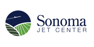 Sonoma Jet Center Logo Blue